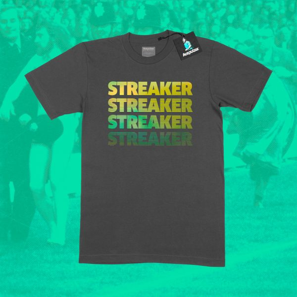 Streaker Football Stadium T-Shirt By Ausputzer